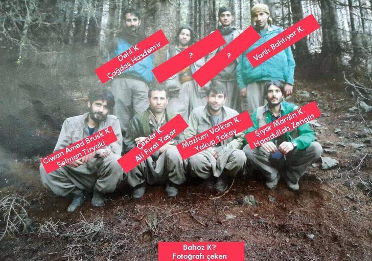 O fotoğraf karesi PKK'lıları korkuttu