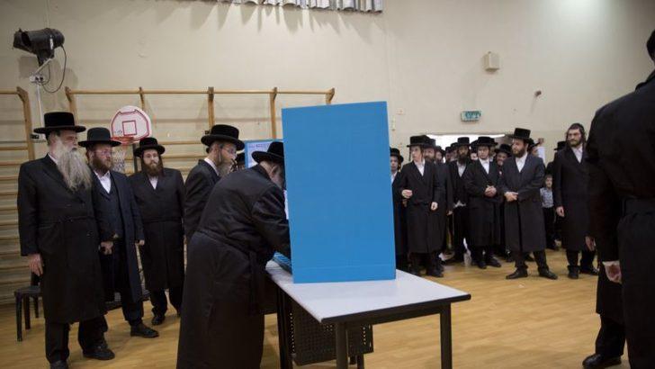 İsrail'de Halk Sandık Başında