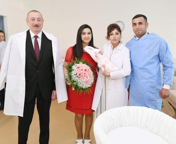 Azerbaycan'ın on milyonuncu vatandaşı dünyaya geldi