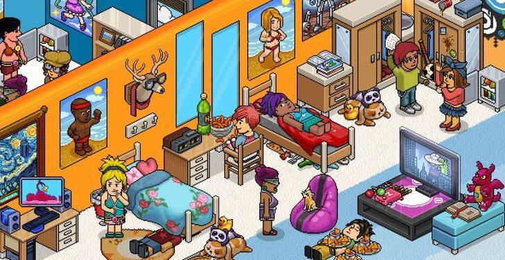 Dünyanın en büyük sosyal oyunlarından biri olan Habbo artık Mynet'te!