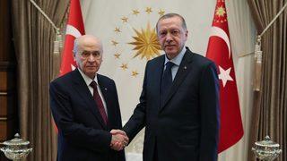 Erdoğan, Bahçeli'yi ziyaret edecek