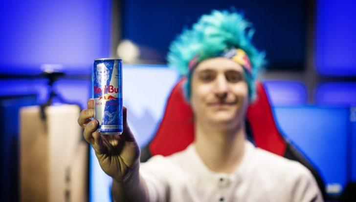 Twitch Yayıncısı Ninja, Red Bull Kutularında!