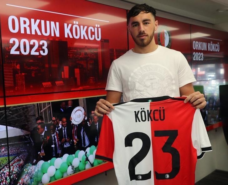 Orkun Kökçü Feyenoord ile sözleşmesini 2023 yılına kadar uzattı