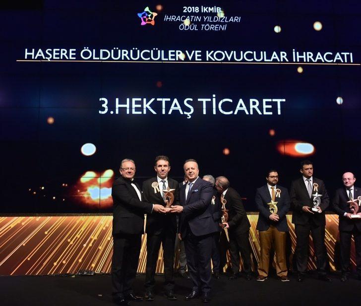 Hektaş'a İhracatın Yıldızı Ödülü