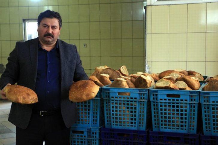 Tokat'tan gelen bu ekmek 5 TL! Uzun süre bayatlamıyor