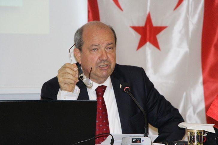 """KKTC Ulusal Birlik Partisi Genel Başkanı Tatar: """"Kıbrıs'ın Türkiye'den kopmasına asla müsaade etmeyeceğiz"""""""