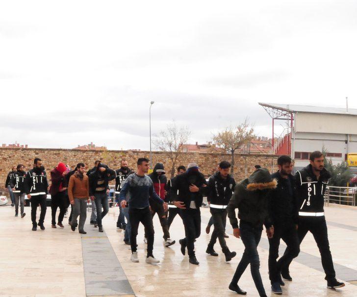 Nevşehir'de uyuşturucu ticaretine 8 tutuklama