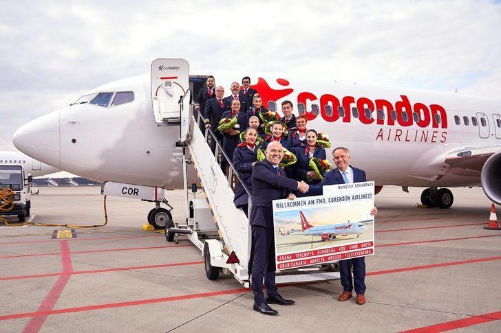 Corendon Airlines'dan 15'inci yılında yine bir ilk uçuş