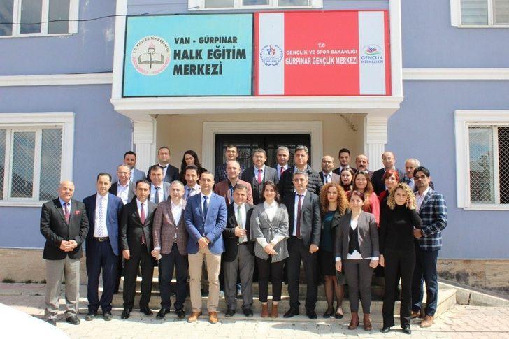 Van'da 'Halk Eğitim Merkezi Müdürleri Nisan Ayı Toplantısı' yapıldı