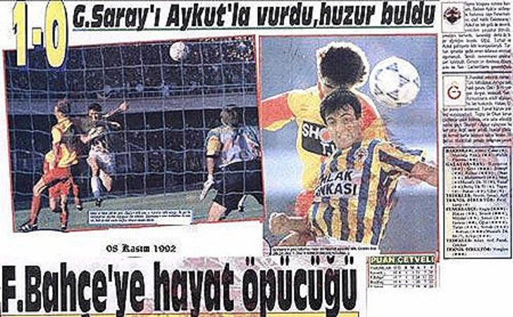 8 Kasım 1992   Galatasaray 0 - 1 Fenerbahçe - Eintracht Frankfurt'u deplasmanda eleyen Galatasaray, Sigma Olomouc'tan 7 gol yiyen Fenerbahçe karşısında favoriydi. Ancak sonuç hiç de öyle olmadı.