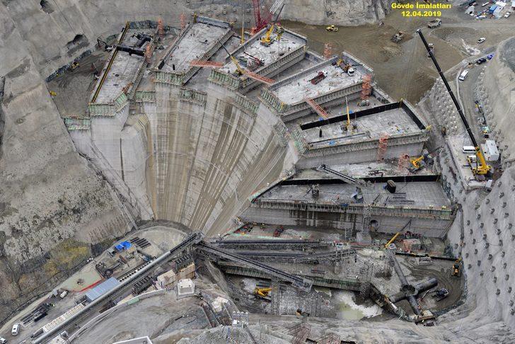 Türkiye'nin en yüksek barajı olacak! İşte son hali