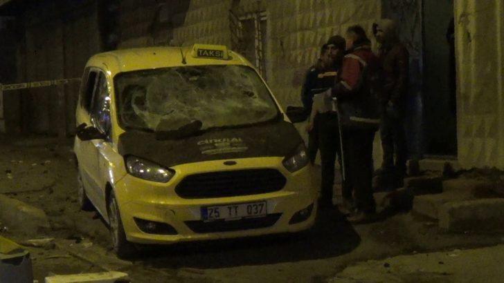 Erzurum'da iki aile arasında kız alma kavgası! Polis mahalleye giriş çıkışları kapattı