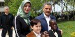 Dünya çocukları 23 Nisan için Samsun'a geldi
