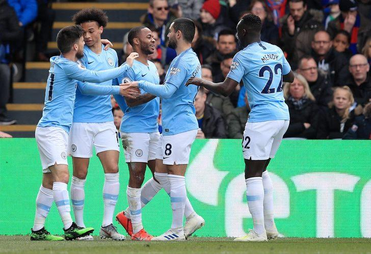 Crystal Palace 1 - 3 Manchester City
