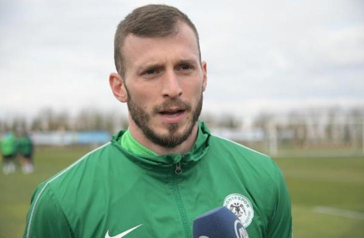 Atiker Konyaspor'da Petar Filipovic sezonu kapattı