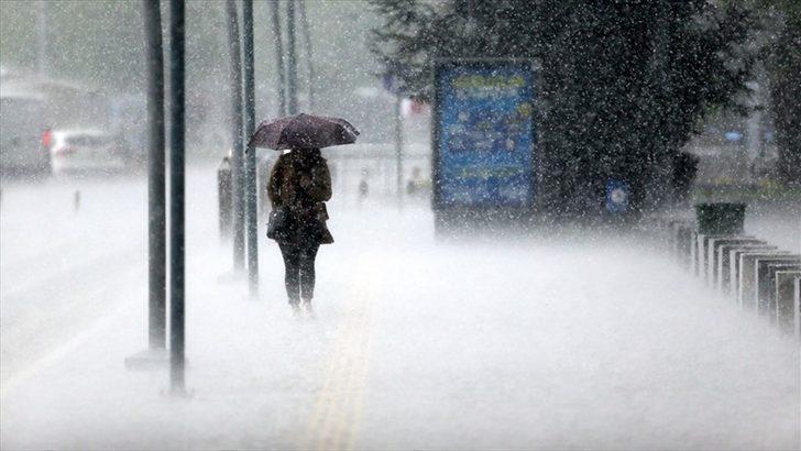 Meteoroloji 6 ili uyardı: Çok kuvvetli olacak