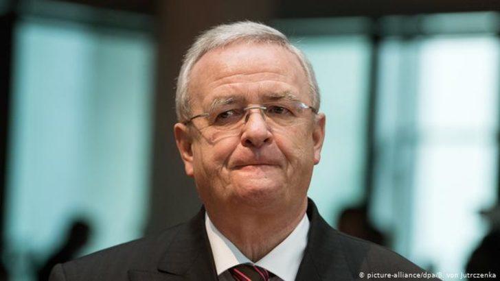 Volkswagen eski CEO'su Winterkorn'a dava