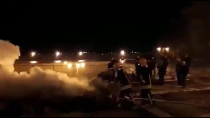 Mescid-i Aksa'da çıkan yangın söndürüldü