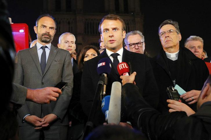 Fransa Cumhurbaşkanı Macron: Korkunç bir trajedi