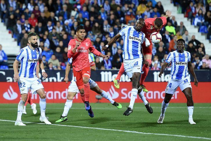 Leganes 1 - 1 Real Madrid