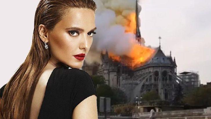 Demet Akalın'dan Notre Dame yorumu