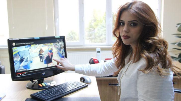 Karaman'da görüntüleri izleyen genç öğretmen şok oldu!