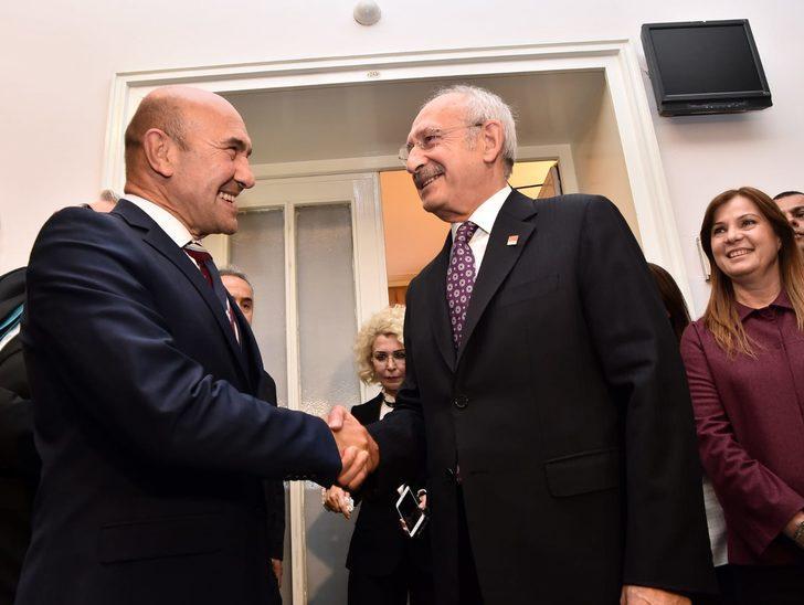 Tunç Soyer, Kılıçdaroğlu'nu ziyaret etti