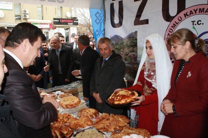Ahıska Türklerinin Korovai ekmeği ilgi gördü