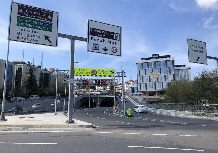 (Özel) Çamlıca-Libadiye Tüneli açıldı