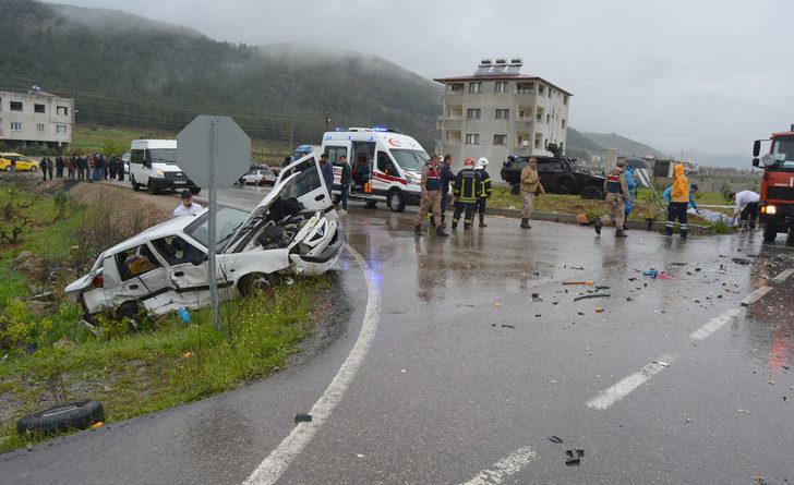 İslahiye'deki kazada yaşamını yitirenlerin sayısı 5'e yükseldi