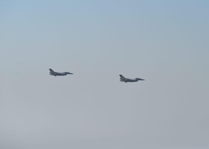 Solo Türk, Mersin'de prova uçuşu yaptı