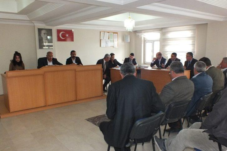 Malazgirt Belediye Meclisi toplandı