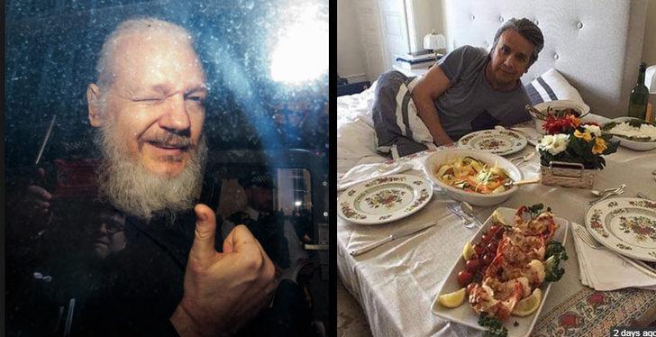 'İstakoz keyfi' Assange'ın 'sonunu' getirdi