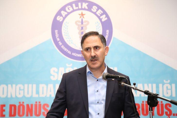 Sağlık-Sen Genel Başkanı Durmuş: Döner sermaye yönetmeliği yeniden inşa edilmeli