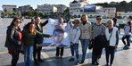 Marmaris'te bir grup kadından mazbata kutlaması