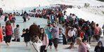 Turistler akın etti! 3 saatte 15 bin ziyaretçi