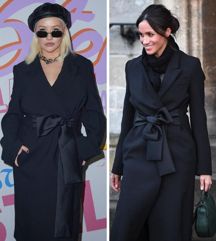 Christina Aguilera ve Meghan Markle
