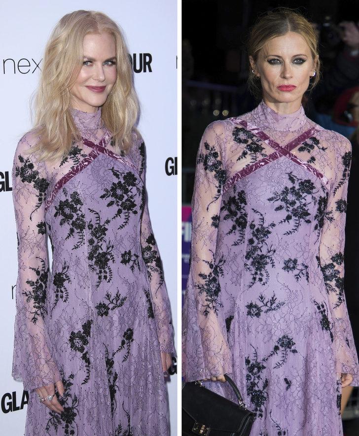 Nicole Kidman ve Laura Bailey