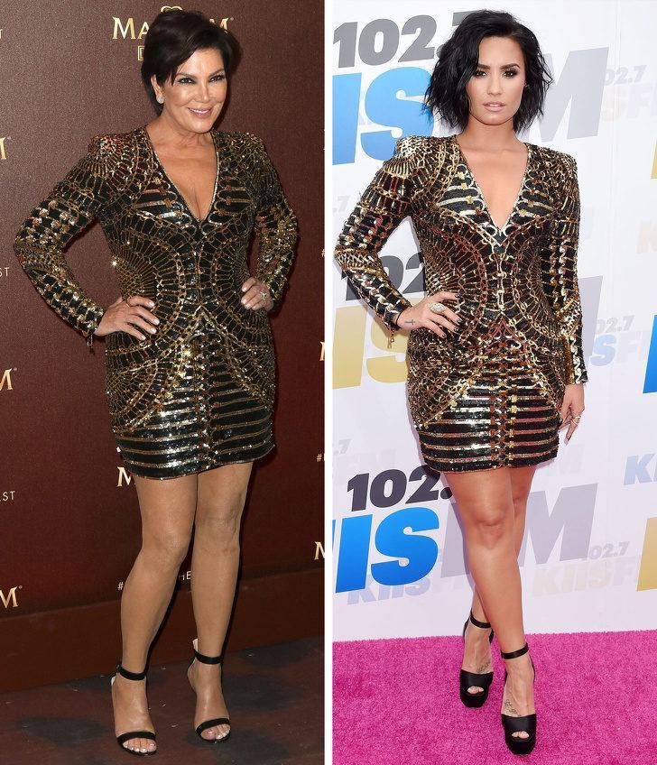 Kris Jenner ve Demi Lovato