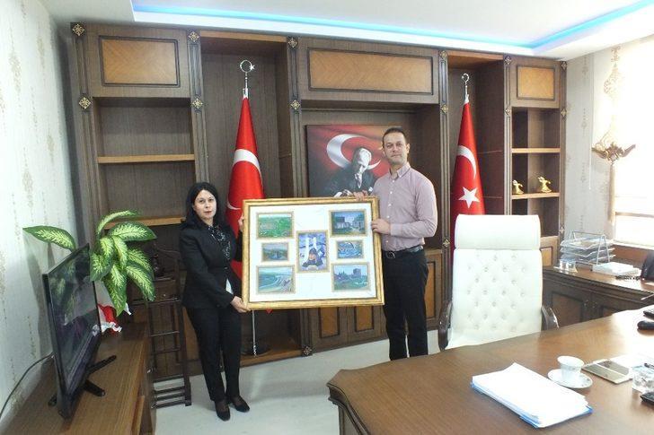 Müdür Acaroğlu'ndan Kaymakam Yalçın'a ziyaret