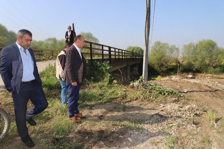 Başkan Akın Karacaali Köprüsü için düğmeye bastı