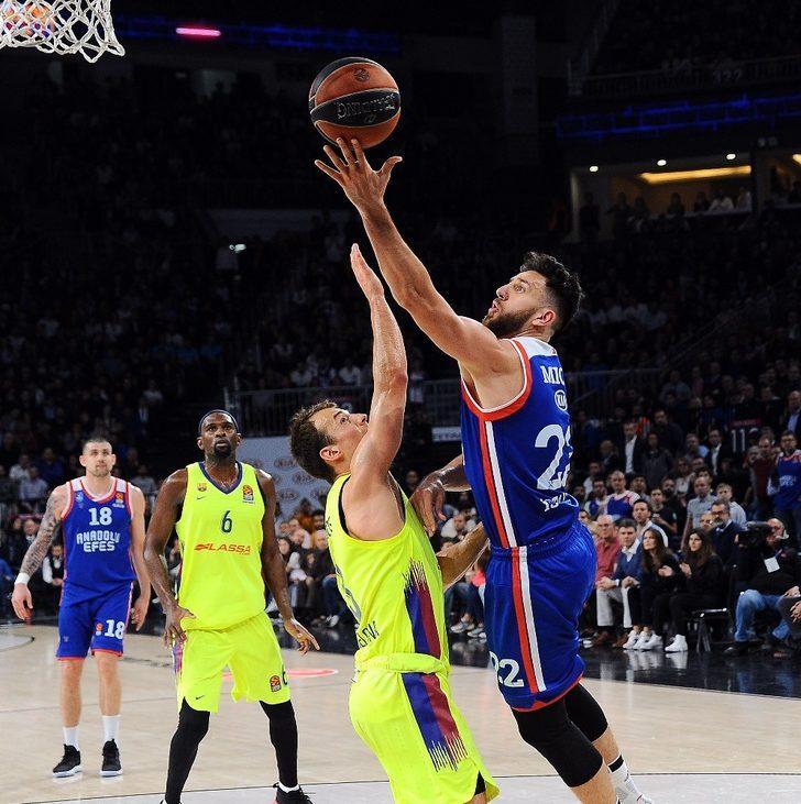 THY Euroleague'de play-off ilk maçların MVP'si Vasilije Micic