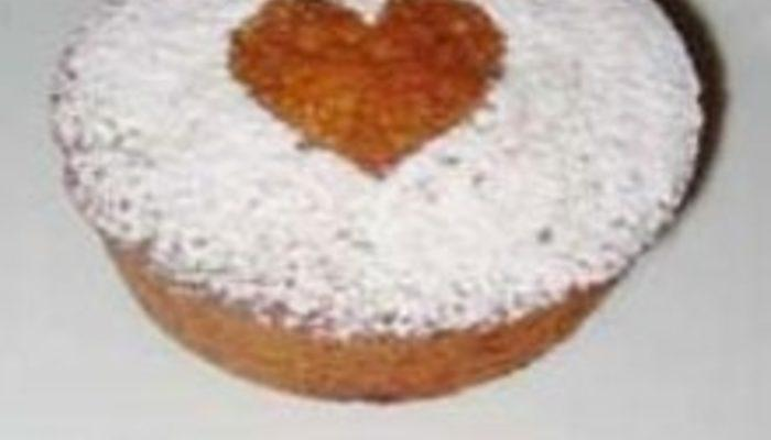 Beyaz Çikolatalı Muffin