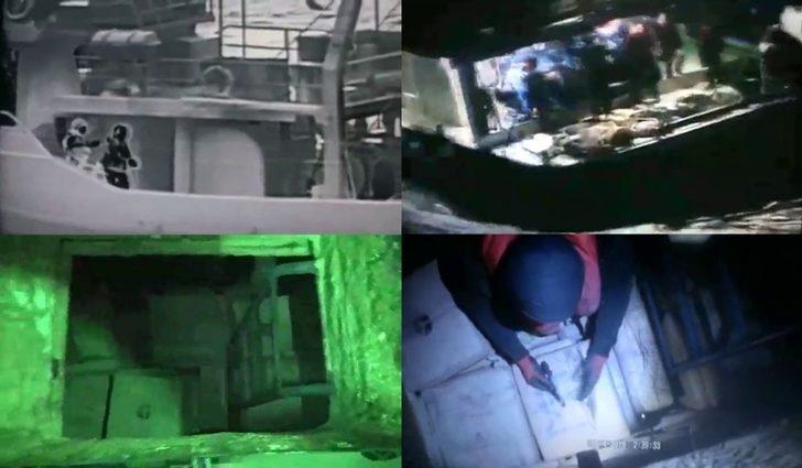 """Bakanlık 5 ton toz esrar ele geçirilen """"Birlik Operasyonu"""" görüntülerini paylaştı"""