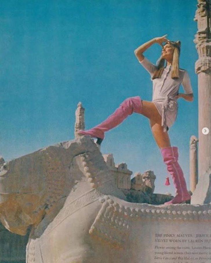 1979'da İranlı kadınlar nasıl görünüyordu?
