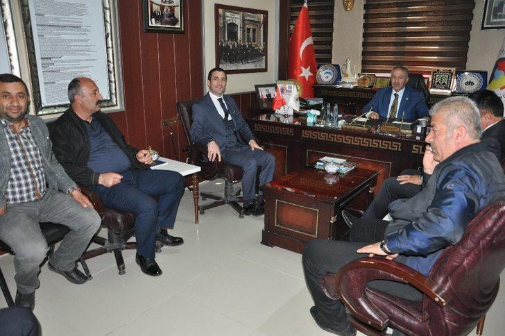 Oda başkanlarından YÜTSO'ya ziyaret