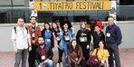 KAEÜ'si 'Pozitif Sahne' tiyatro topluluğu 10. Tiyatro festivaline katıldı