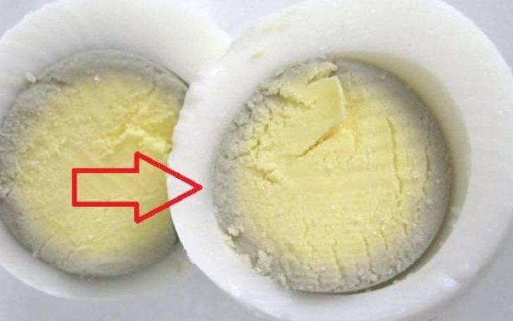 Aman dikkat! Çok katı haşlanan yumurta kanserojen etki gösterebiliyor