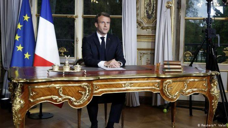 """Macron'dan PYD'ye """"aktif destek"""""""