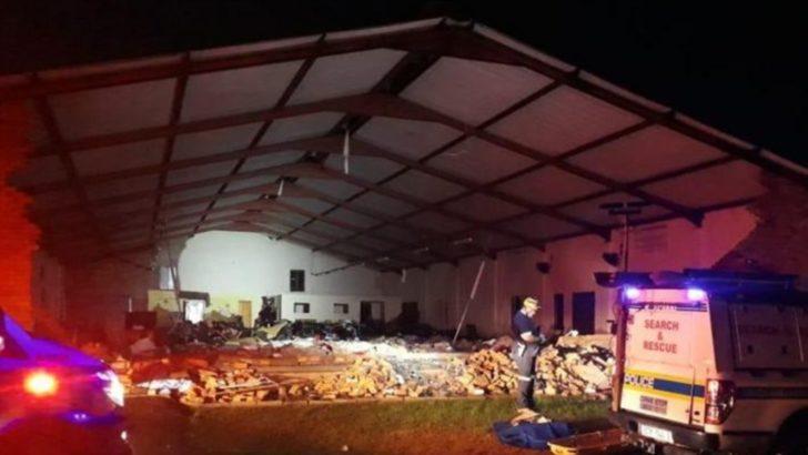 Güney Afrika'da Çöken Kilisede 13 Can Kaybı